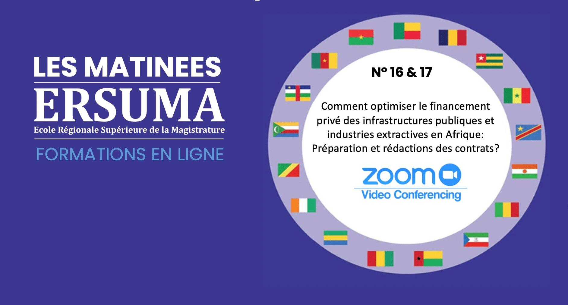 COMMUNIQUE / 16 EME MATINEE ERSUMA-FORMATION EN LIGNE