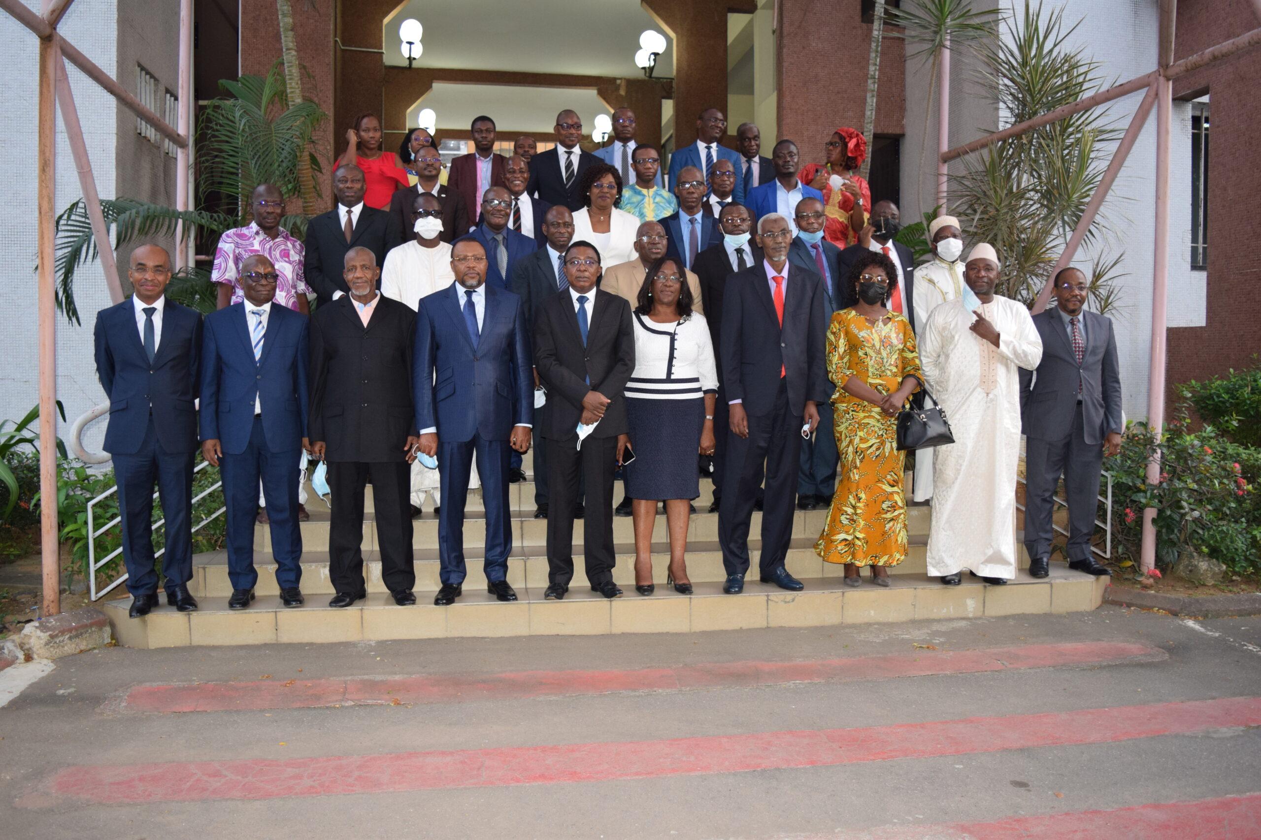Tournée du Président du Conseil des Ministres de l'OHADA dans les Institutions (Yaoundé, Abidjan et Porto-Novo du 08 au 17 mars  2021)